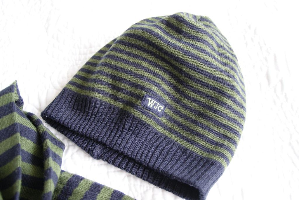 Wójcik czapka i szalik stan idealny 4-6 lat