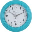 Zegar  ciemno błękitny SCANDI  23 cm