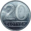 Moneta 20 zł złotych 1988 r piękna