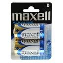 Baterie bateria alkaliczna D LR20 Maxell - 2 szt