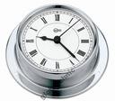 Zegar jachtowy BARIGO Tempo chrom polerowany fi85