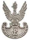 Orzeł wojskowy wz. 19 z symbolem Polski Walczącej