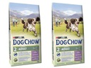 Purina DOG CHOW Adult Lamb 2 x 14kg +GRATISY!