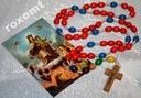 Różaniec 13 CNÓT Maryji za dusze w czyśćcu drewno
