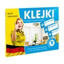 NAKLEJKI edukacyjne do nauki języka - niemiecki