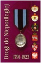 Legiony odznaki, biżuteria patriotyczna, szabla
