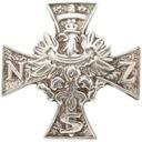 Krzyż NSZ - odznaka Narodowe Siły Zbrojne