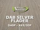 Okleina Modyfikowana Dąb Silver Flader DASF-X63