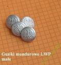 guzik guziki LWP mundurowe małe orzeł bez korony