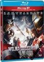 Kapitan Ameryka: Wojna bohaterów 3D (2xBlu-Ray)PL