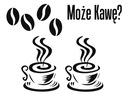Naklejka na ścianę Kawa, Coffee , do kuchni Cafe