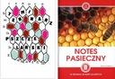 Terminarz pszczelarski + Notes pasieczny notatnik