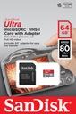 KARTA Micro SD SDHC 64GB do GoPro HERO 8 BLACK Typ karty SDXC