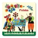 MAGNETKA (201) Polska Folklor Wycinanka Łowicka