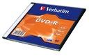 VERBATIM DVD-R 4,7GB 16x slim case 1 sztuka AZO