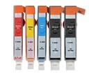 5x HP 655 XL DeskJet Ink Advantage 3525 4615 5525