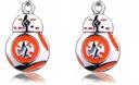 Kolczyki Gwiezdne Wojny Star Wars BB-8 Droid BB8