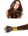 NANORINGI włosy naturalne 50cm pasemka NANO RINGI