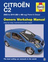 CITROEN C2 (2003-2010) - instrukcja napraw Haynes