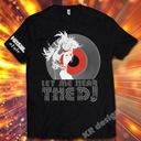HE1 Koszulka LET ME HEAR + smycz dj Hazel GRATIS