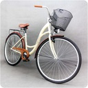 Damski rower miejski GOETZE 28 eco damka + kosz Rodzaj przerzutki brak