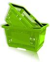 Kosz Koszyk sklepowy zakupowy koszyczek plastikowy