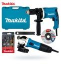 Makita dk0050x1 комплект дрель HP1631K + GA5030R