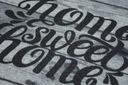 WYCIERACZKA PODGUMOWANA SWEET HOME WOOD 60x80 #W06 Kolor czarny odcienie szarości
