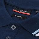 Koszulka Polo PIERRE CARDIN 100% Bawełna tu 3XL Kolor granatowy
