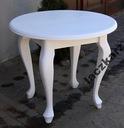 Biały stół nowoczesny minimalistyczny glamur 100 c