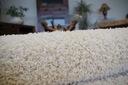 DYWAN SHAGGY 80x120 5cm krem pluszowy gruby @10311 Materiał wykonania polipropylen
