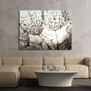 ОДУВАНЧИК 111x85 картина на холсте цветок одуванчик
