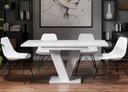 Piękny Stół ROZKŁADANY 120-160 Biały Połysk+GRATIS