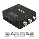 Konwerter HDMI to RCA, GANA 1080P HDMI to AV 3RCA