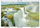 Obraz Widok Rzeka Wodospad Tęcza Lasy Tropikalne