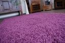 DYWAN SHAGGY 5cm fiolet 70x120 miękki jednolity Kolor odcienie fioletowego
