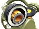 SPRĘŻARKA HV pompa powietrza kompresor olejowy Rodzaj sprężarka tłokowa