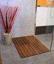 drewniana mata łazienkowa KOPERTOWA 41,5x60 KOSPOD Szerokość 41 cm