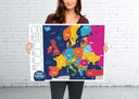 Mapa Europy zdrapka PRODUKT POLSKI EUROPA Kod produktu MZEU