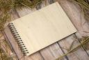 деревянный альбом на фото для наклеивания A4 Уровни