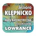 Jezioro Klępnicko mapa na echosondy Lowrance BG