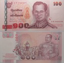 Tajlandia - 100 THB 2005 - podpis b - st. 1