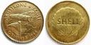 Medal SHELL Gemini 8 1966 Armstrong Scott KOSMOS!!