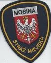 Naszywka straż miejska Mosina okazja