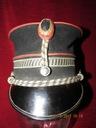 Czapka Rijkswacht- Gendarmerie Belgia lata 40