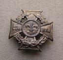 ZHP Krzyż harcerski wyk Michrowski II RP