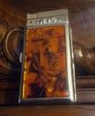 papierośnica bursztynowa z zapalniczka