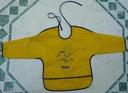Ładny, żółty fartuszek do prac plastycznych