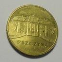 2 złote Pszczyna zamek moneta okolicznościowa 2006