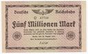 136(9b) - Berlin,5 Milionów Marek 1923